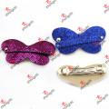 Модные блестящие кожаные клипсы для волос для девочек (HC16)