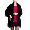2017 newest style claret cashmere shawl
