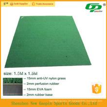 Anti-Rutsch-Basis Kunstrasen Golfschaukel Matte / gebrauchte Golfmatten / Minigolf grün