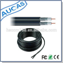 SYWV rg59 75ohm 50 ohm coaxial cable / fiber optic cable