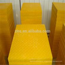 Anti-corrosión de alta resistencia FRP Grating grp moldeado tipo de cubierta de rejilla
