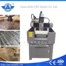 Máquina de grabado del CNC Router Metal 4040m alto costo máquina cnc de rendimiento