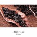 Agaric séché de champignon noir séché de Chine