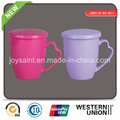 New Color Decal Ceramic Mug with Lid