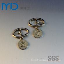 Oval Pin fivelas para mulheres Sandal Strap