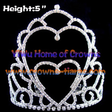 Vintage Wholesale Heart Shaped Pageant Crowns
