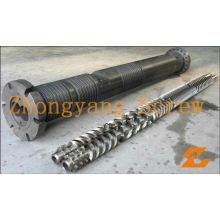Zyt419 Baril parallèle de vis jumelle pour la machine d'extrudeuse