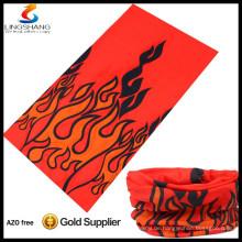 heiße billige Mode elastischer Sport Hijab 100% Polyester Schals, magische Kopfbedeckungen Multifunktionales nahtloses Bandana