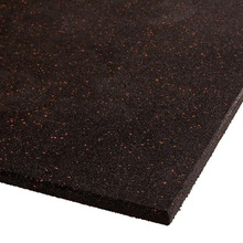 15mm Gym Rubber Mat mit rotem Fleck