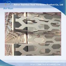 Aluminium Perforierte Vorhangfassade für Dekoration