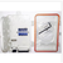 Caja de terminales de fibra óptica, empalme exterior de pared de fibra / panel de distribución, caja de terminales 4Cores FTTH