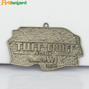 Custom Award Medals With Soft Enamel