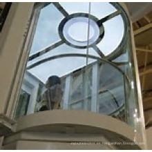 Elevador de vidrio de observación Srh 13 personas, elevador panorámico