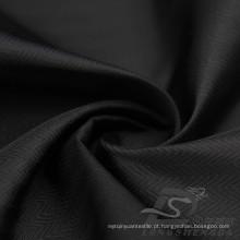 Resistente à água e ao ar livre Sportswear Down Jacket Tecido Zig-Zag Onda Jacquard 100% Cordon Fios Tecido de filamentos de poliéster (X062)