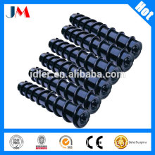 mining used conveyor spiral roller with deep groove ball bearing
