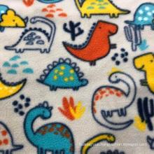 100% polyester printed micro cheap polar fleece fabric