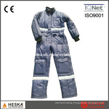Winter Coverall Warm Garmen Jtumpsuit Mens Safety Freezer Suit