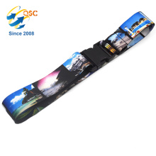 Custom Sky Travel Luggage Pull Strap