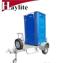 Китай портативный туалет мобильный туалет-прицеп для продажи