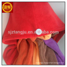 China wholesale girls bath shower cap, turban towels wrap, microfiber hair drying towel