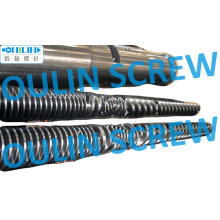 Bimetal Quality Twin Conical Screw and Barrel