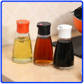 Frasco de vidro de pimenta define garrafa de vidro condimento para especiarias / molho de soja / vinagre
