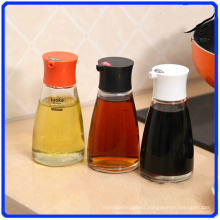 Glass Pepper Jar Sets Condiment Glass Bottle for Spice/Soy Sauce/Vinegar