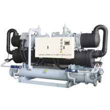 Malaysia -5 to 5 Degree 120kw Low Temp Water Cooled Chiller Unit