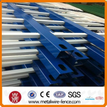 Portable tube galvanized steel temporary vinyl construction fencing