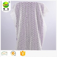 Eco-friendly 100% Cotton embroidery swiss lace fabric
