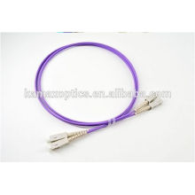 Sc-Sc mm Dx 2.0mm Om4 50/125 Fiber Optic Patch Cord