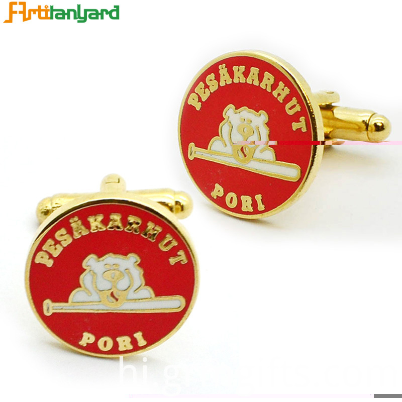Customized Cufflink With Metal