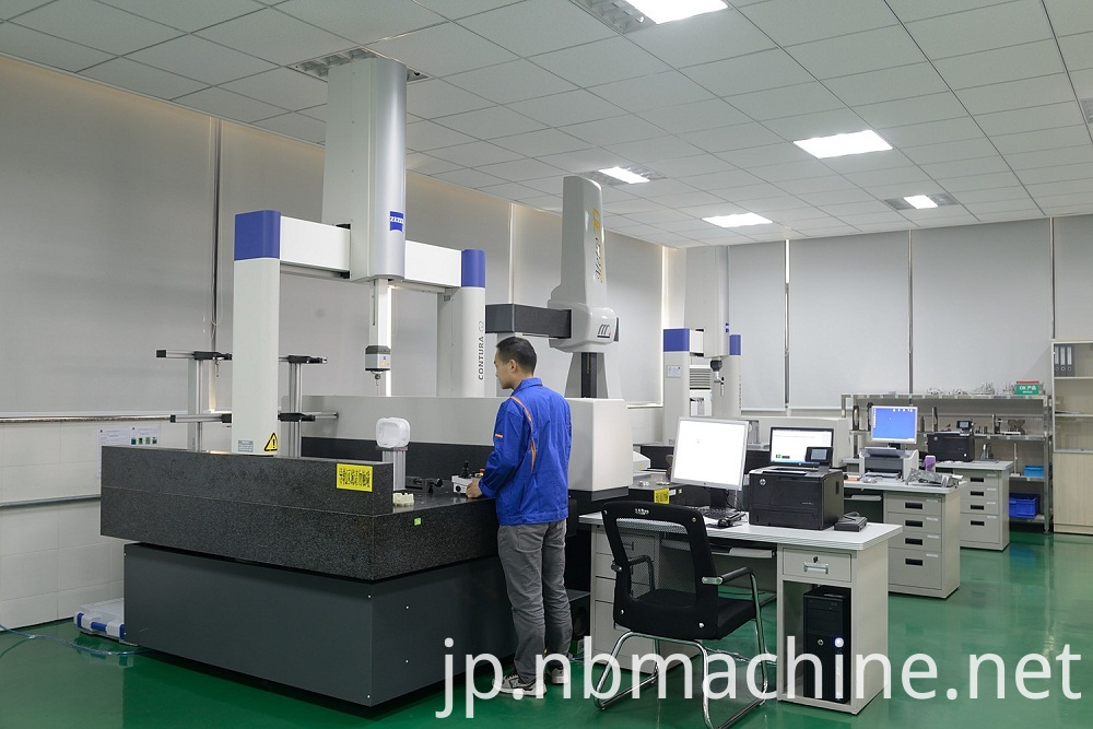 Machining parts quality control
