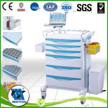 Medizin Trolley mit Computer-Tablett