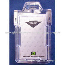 Custom salable security card holder, available your logo, OEM orders are welcome