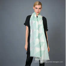35%Cotton 65%Polyester Yarn Dye Scarf for Ladies′ Fashion