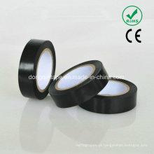 Fita adesiva de PVC de cola de borracha com forte adesivo para proteção elétrica