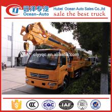 Dongfeng transmisión manual 18M camión de operación de gran altitud