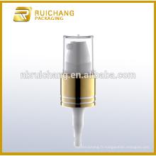 Pompe à crème en crème en aluminium de 16 mm avec petite surcapacité