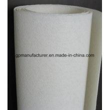 Tapete de poliéster Nonwoven Spunbond de fábrica para membranas impermeáveis APP / Sbs