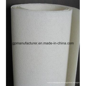Alfombra de poliéster Spunbond poliéster de alta calidad para membranas impermeables de betún
