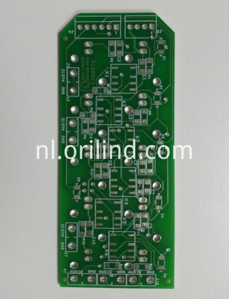 Double-side pcb board