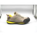 Sapatos novos de segurança projetado Nubuck couro com sola de cimento (LZ5005)