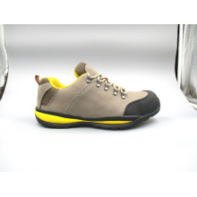 New Designed Nubuck Leather Safety Shoes with Cement Outsole (LZ5005)
