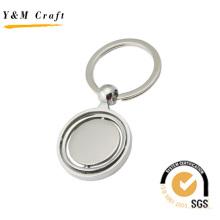 Runder Metall-Schlüsselanhänger (Y02338)