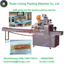 Gzb-350A High Speed Pillow-Type Automatic Air Bread Flow Wrapping Machine
