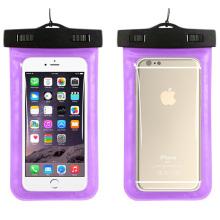 New Fashion PVC wasserdichte iPhone Fall mit Umhängeband (YKY7249-2)