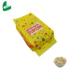 Vendas de fábrica para sacos de papel de pipoca para micro-ondas com lacre personalizado