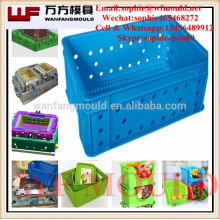 plastic fish basket mold /plastic fish basket mould / plastic fish basket injection mould mold