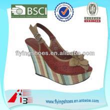 Zapatos de las señoras de las sandalias de la manera 2014